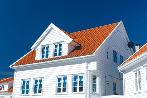 Tømrertjenester - Bilde av nybygg av enebolig i Norge
