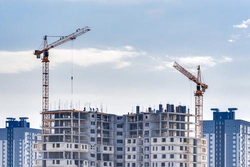 Bilde av oppføring av bygg i Norge - Tømrertjenester fra Byggmester Erik Laursen